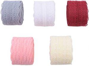 cintas de encaje 5 colores