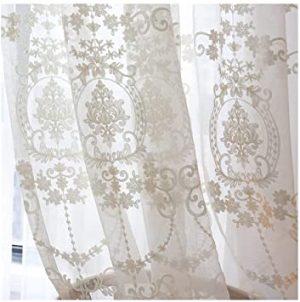 cortina de encaje
