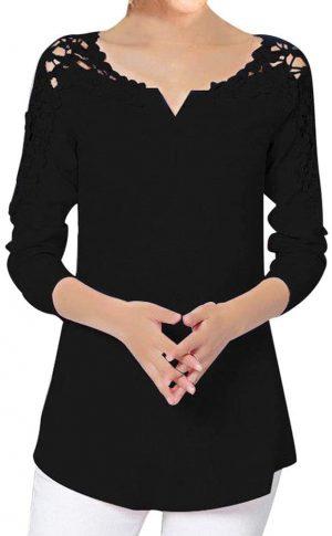 Camisa Elegante con Encaje